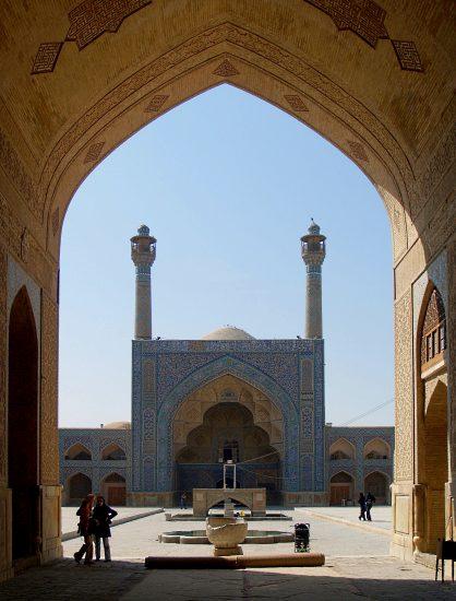 مسجد جامع اصفهان در گذر زمان