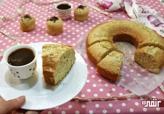 طرز تهیه کیک خانگی با آرد سمولینا