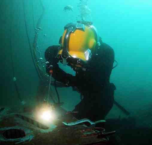 مقاله کاربرد جوشکاری زیر آب