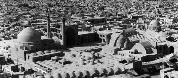 تحلیل معماری مسجد جامع اصفهان