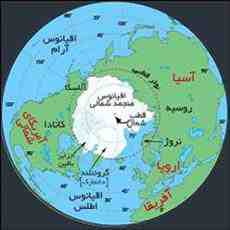 پاورپوینت در مورد قطب شمال