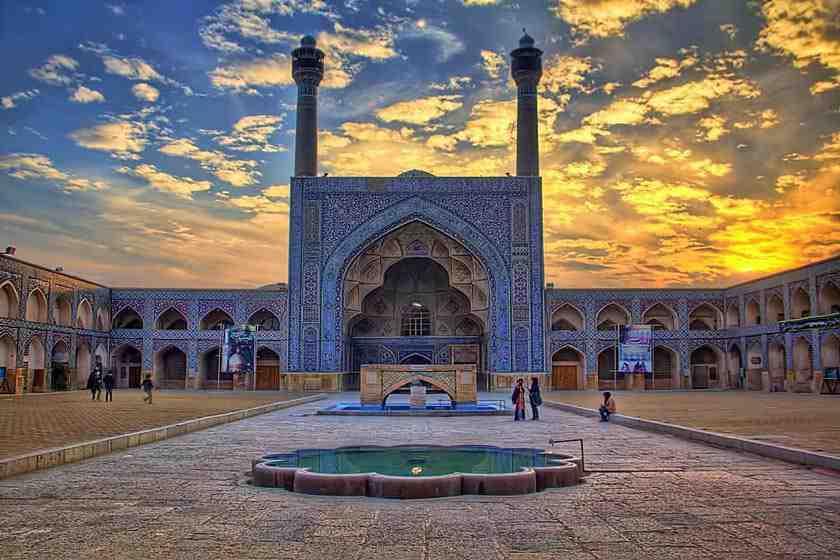 پاورپوینت مرمت مسجد جامع اصفهان