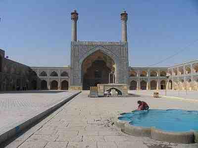 مقاله مسجد جامع اصفهان