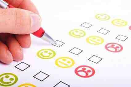 پرسشنامه رضایت شغلی مشتری ویژه مراجعان امور بانکی