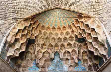 پروژه مرمت مسجد جامع اصفهان