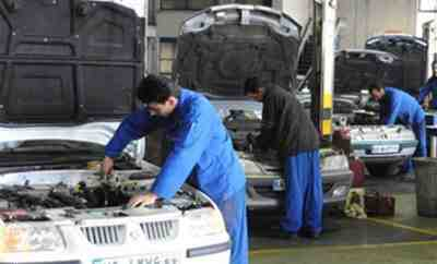 گزارش کارآموزی رشته مکانیک خودرو، تعمیرگاه