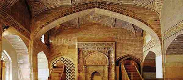 گنبد تاج الملک مسجد جامع اصفهان