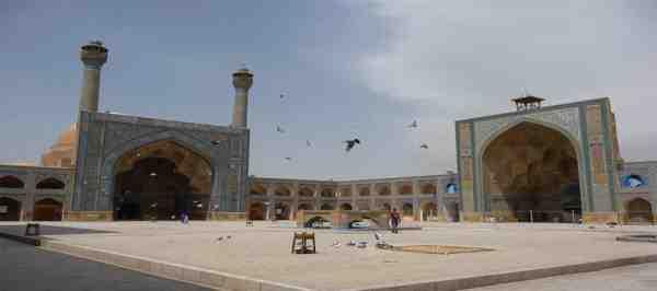 گنبد خاکی مسجد جامع اصفهان