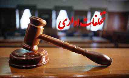 تحقیق تخلفات اداری