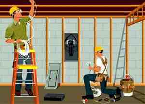 گزارش کارآموزی سیم کشی ساختمان