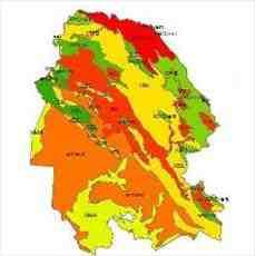 شیپ فایل رده های خاک استان خوزستان