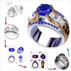 کارآفرینی طراحی طلا و جواهرات با دستگاه CNC