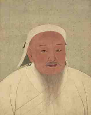 تحقیق در مورد چنگیز خان مغول