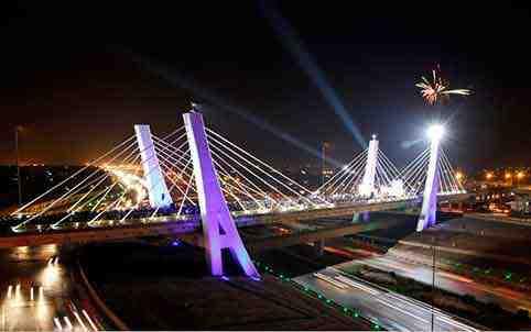 تاریخچه پل های کابلی
