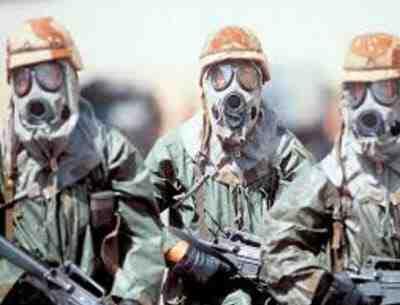 پاورپوینت جنگ اتمی و شیمیایی