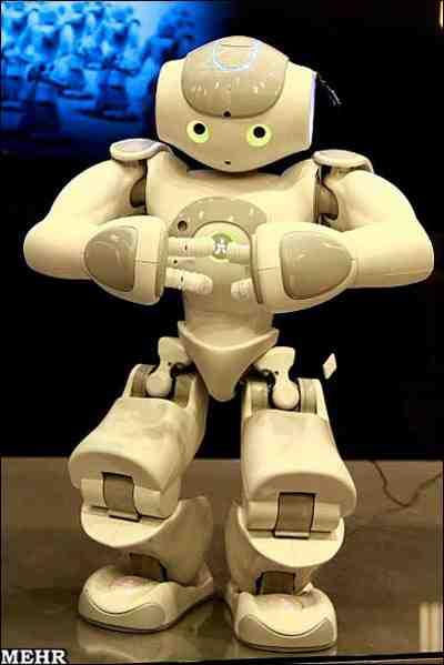 مقاله شیوه ارائه مطالب ربات ها