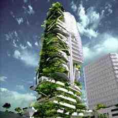 پاورپوینت معماری بام سبز