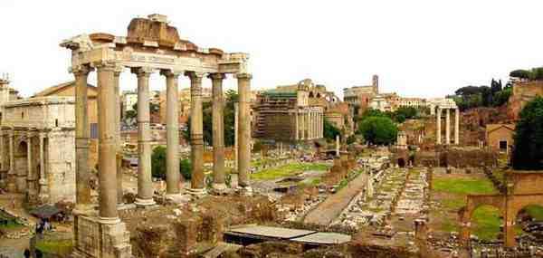 مقاله معماری روم باستان