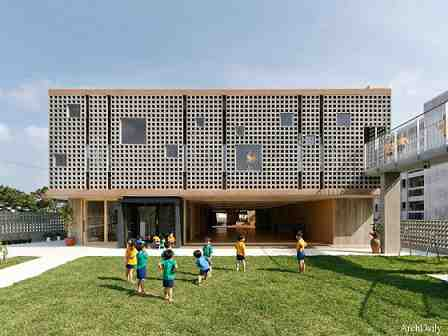 مقاله معماری خانه کودک، مهد کودک