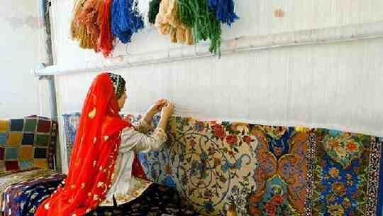 مقاله فرش های بافته ایران