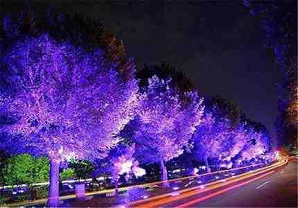 پاورپوینت نورپردازی در فضاهای شهری