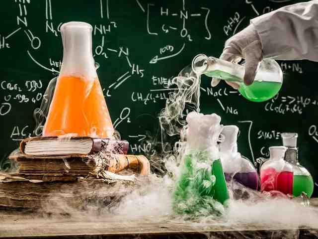 مقاله واکنش های شیمیایی