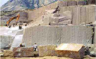 گزارش کارآموزی در سنگ معدن اصفهان