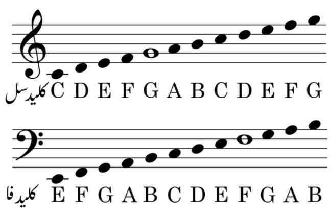 مقاله آشنایی با موسیقی و نتها