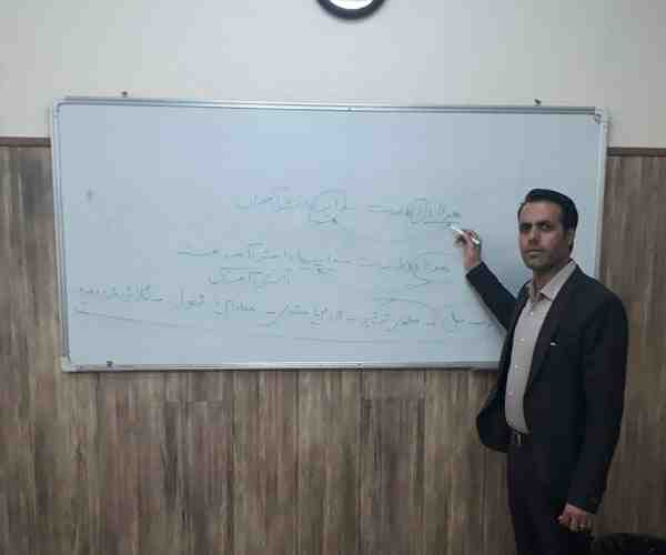 تجربیات دبیر عربی