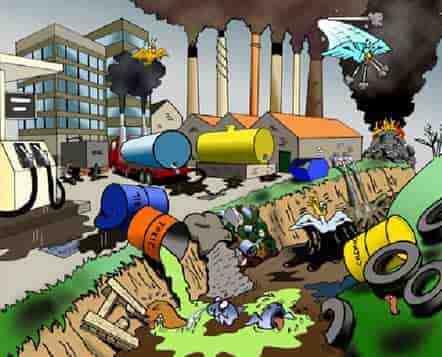 انواع آلاینده های خاک