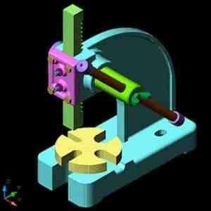 مقاله طراحی و مدل سازی قطعات یک دستگاه در Mechanical Desktop