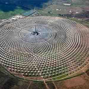 مقاله نیروگاه خورشیدی
