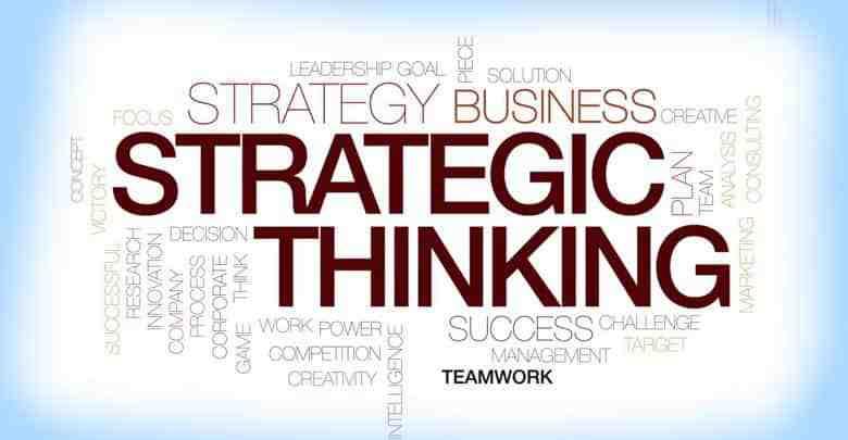 مقاله ترجمه شده تفکر استراتژیک