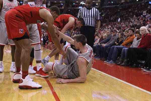 پاورپوینت آسیب های شایع در بسکتبال