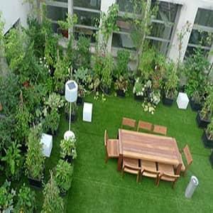 پاورپوینت تاثیر پوشش گیاهی در صرفه جویی انرژی ساختمان
