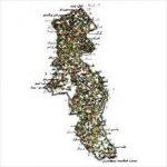 شیپ فایل روستاهای استان اردبیل