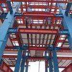 گزارش کارآموزی ساختمان های اسکلت فلزی