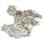شیپ فایل روستاهای استان قزوین
